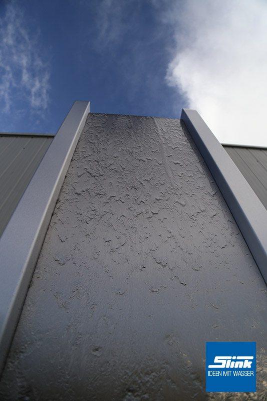 Edelstahl-Wasserwand Wandbrunnen aus Edelstahl Edelstahl-Wandbrunnen indoor Zimmerbrunnen Edelstahl