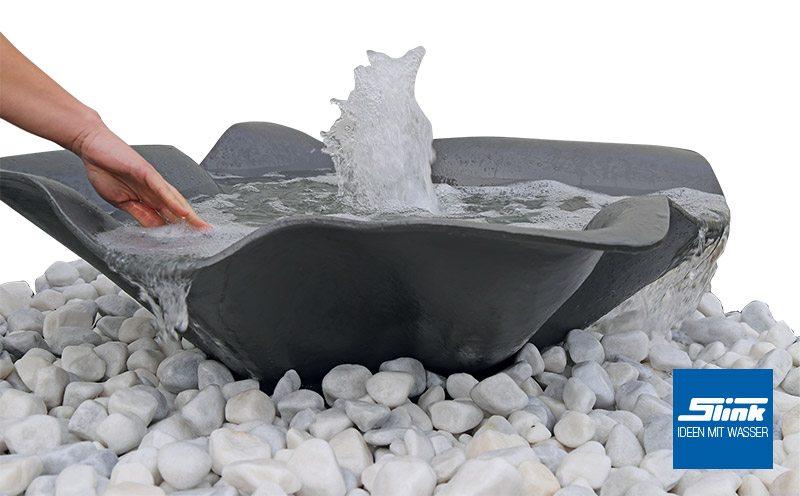Designer Wasserobjekt Gartenbrunnen Fjord Slink Ideen Mit Wasser