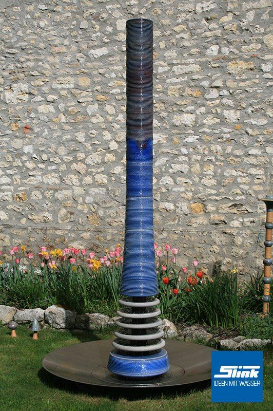 Keramikbrunnen Keramik-Wasserspiele für den Garten Gartenbrunnen aus Keramik Künstlerbrunnen für Bauerngärten