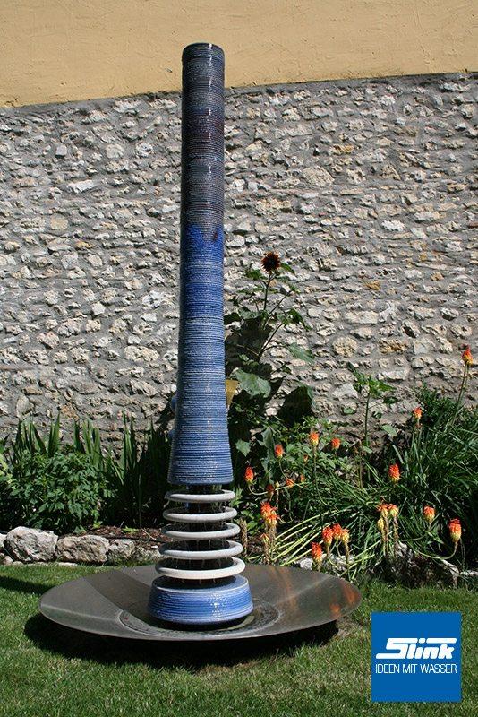 Wasserobjekt Keramik-Säule Loft