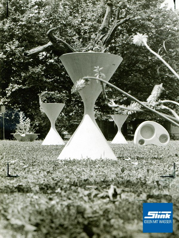 Guhl Spindel Pflanzgefäß - Slink | Ideen mit Wasser