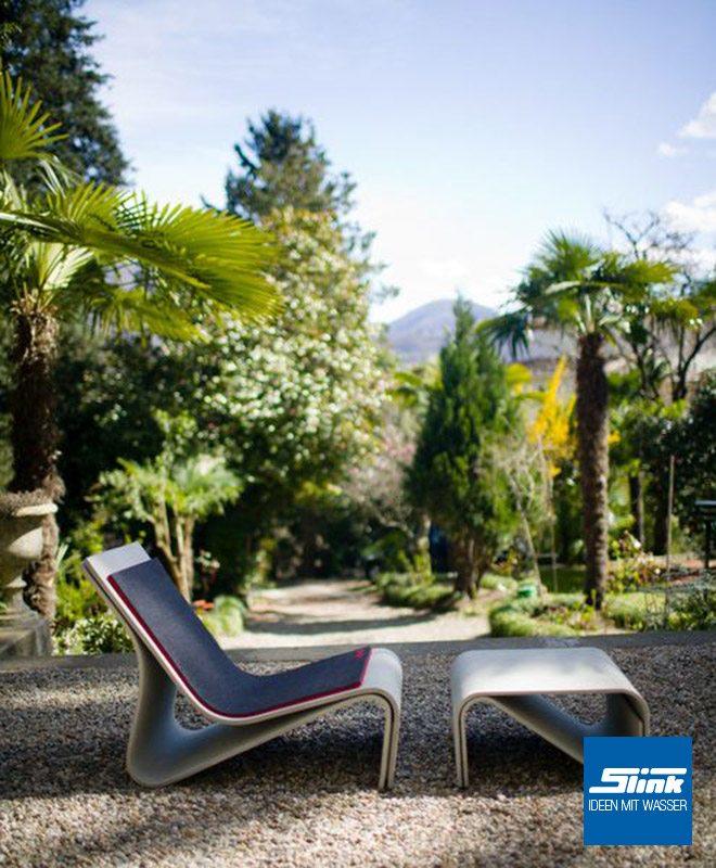 Sponeck Gartenlounge Gruppe Gartenmöbel Design Gartentisch Gartensessel betonoptik Eternit Swisspearl Designer Outdoor-Möbel