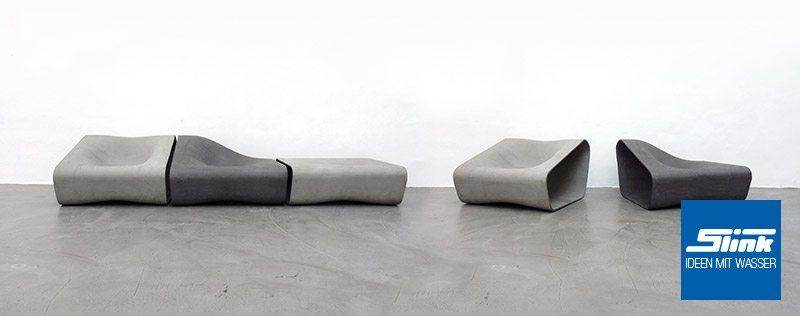 Dune Lounge Sessel Mittelteil - Slink | Ideen mit Wasser