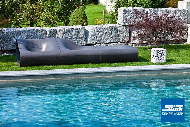 dune lounge sessel rechts slink ideen mit wasser. Black Bedroom Furniture Sets. Home Design Ideas