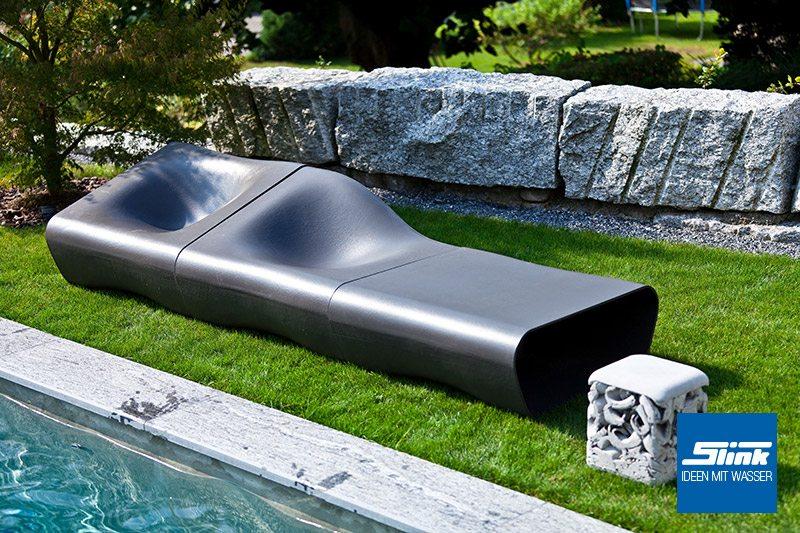 Lounge sessel garten  Dune Lounge Sessel Mittelteil - Slink | Ideen mit Wasser
