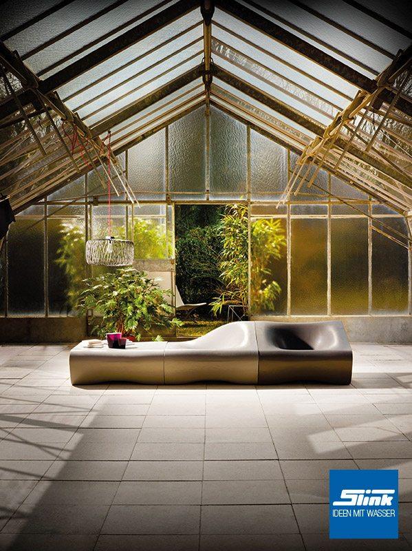 Dune Gartenlounge Gruppe Gartenmöbel Design Gartentisch Gartensessel betonoptik Eternit Swisspearl Loungesessel Garten Outdoor-Möbel