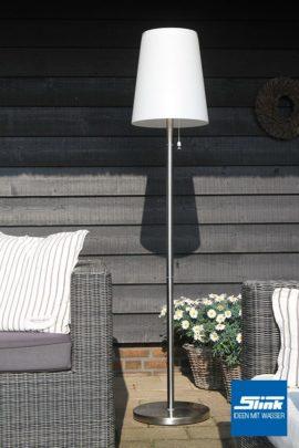 Lasolar Steh-Solarleuchte für den Garten groß