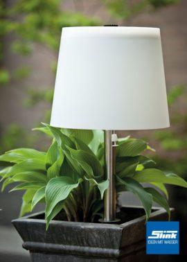 Lasolar Designer-Steckleuchte flexibel stellbar LED Solarleuchte außen Solarlampe LED outdoor kabellos