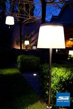 Lasolar Steck-Solarleuchte für den Garten groß