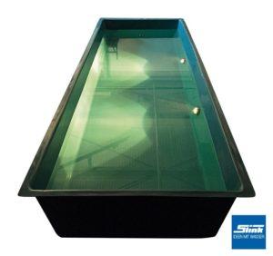 Unterwasserbeleuchtung für GFK-Wasserbecken Teichbecken GFK-Becken Beleuchtung Licht Leuchte Unterwasser