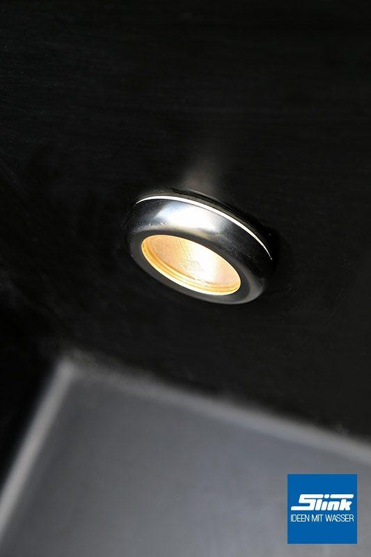 becken einbaustrahler set led 5w slink ideen mit wasser. Black Bedroom Furniture Sets. Home Design Ideas
