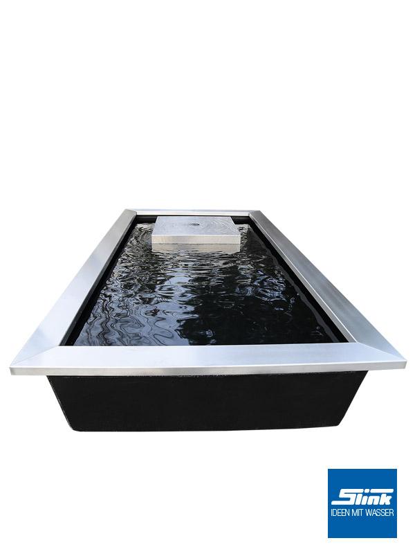 ideen mit wasser | gartenbrunnen, wasserbecken & gartenambiente