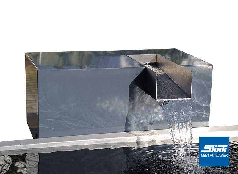 wasserfall bauelement kjaer slink ideen mit wasser. Black Bedroom Furniture Sets. Home Design Ideas