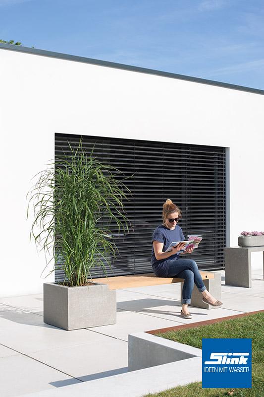 variante 8 modulbank betonoptik 2 x beton teak bank lang 1 x gef slink ideen mit wasser. Black Bedroom Furniture Sets. Home Design Ideas