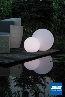 Gartenbeleuchtung LED-Leuchtkugel 40 cm oder 60 cm Ø