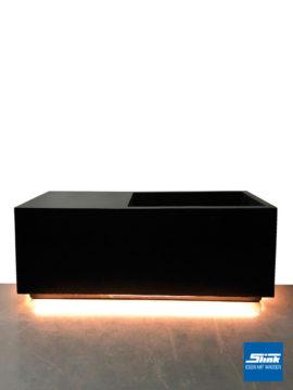 LED-Pflanzgefäß M 95 x 37 x 37 cm