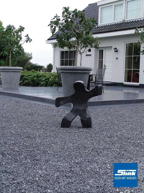 kinnas granitskulptur f r den garten slink ideen mit. Black Bedroom Furniture Sets. Home Design Ideas