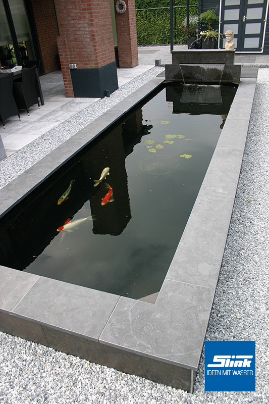 Ideen mit Wasser  Gartenbrunnen, Wasserbecken ...