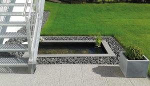 GFK Wasserbecken Auf Der Terrasse Und Im Garten