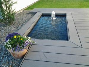 Stunning Terrassengestaltung Mit Wasserbecken Photos - Amazing Home ...