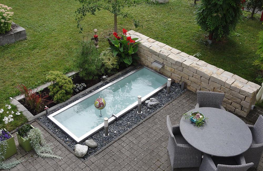 ... Referenzen Slink Ideen Mit Wasser For Gartenteich Edelstahl ...