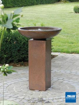 Kupferbrunnen Toulouse hoch