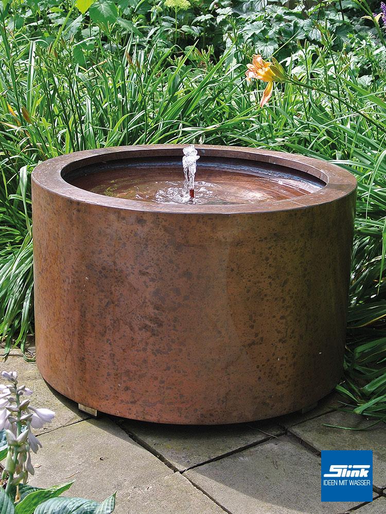 Kupfer-Gartenbrunnen, Wassertisch, Zimmerbrunnen, Springbrunnen, Wasserspiele, Kupfer-Quellstein Terrasse, moderner Gartenbrunnen, kaufen