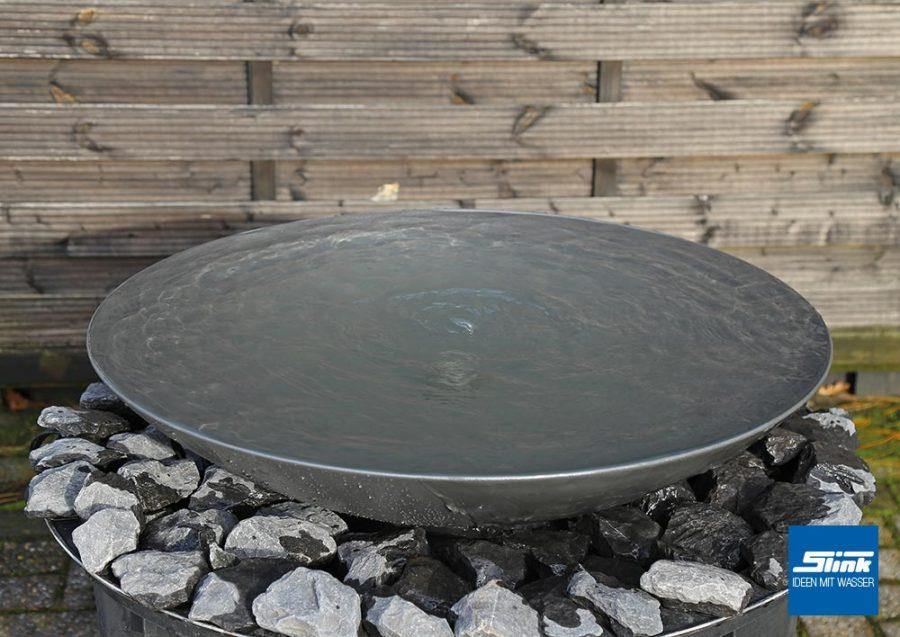 Wasserschale Design, Schalenbrunnen, Zen-Brunnen, Springbrunnen-Schale, Wasserspiel-Schale, Designerbrunnen Schalenbrunnen für den Garten
