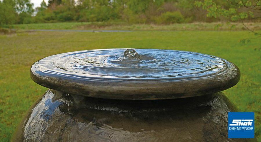 Garten Brunnen, Zierbrunnen, Terrassen-Springbrunnen, Amphore, Krug, klassischer Springbrunnen, Wasserspiel Garten