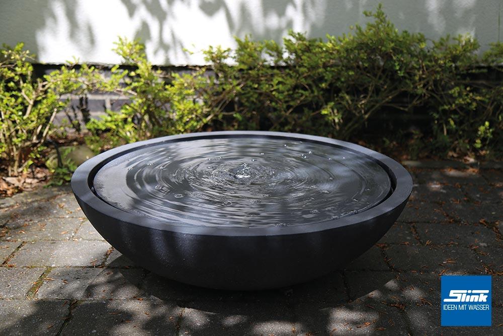 terrassen und zimmerbrunnen wasserschale lund slink ideen mit wasser. Black Bedroom Furniture Sets. Home Design Ideas