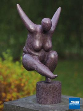 Bronzefigur Venus rötlich
