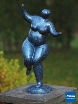 Bronzefigur Venus bläulich