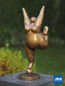 Bronzefigur Venus goldig