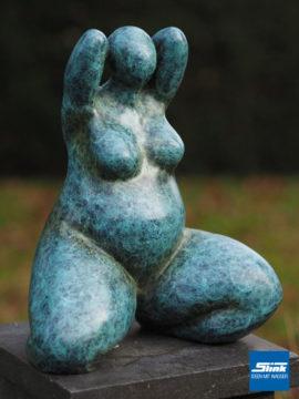 Bronzefigur Venus grünlich