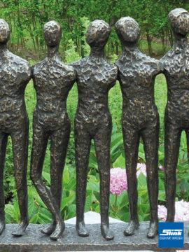 Bronzefigur Gruppe