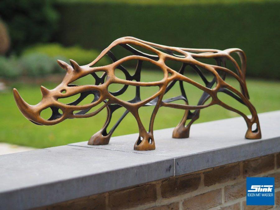 GArten Bronze Kunst, Bronzeskulptur, Bronzefigur, Gartenfigur, Gartenkunst, Gartendeko, Gartenambiente, Designer-Skulptur Garten, Ideen für den Garten