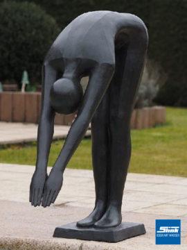 Bronzefigur Köpper