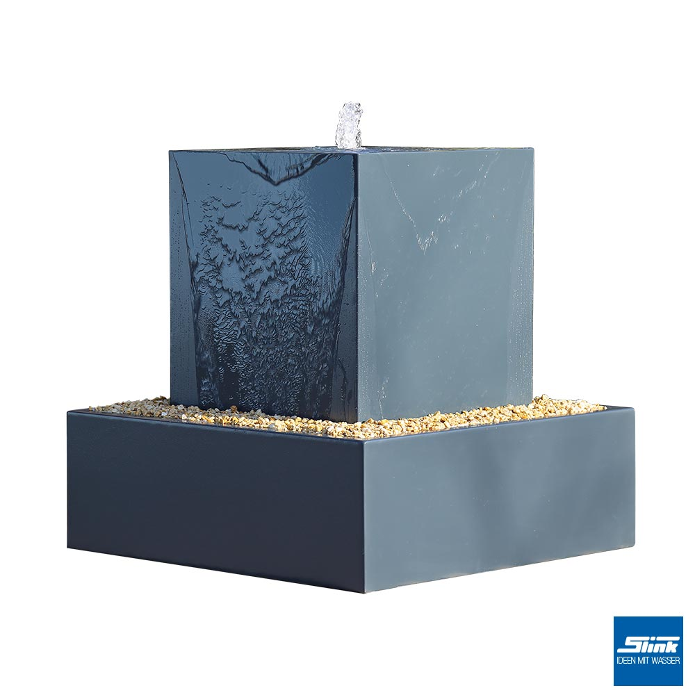 aluminium kubus jacobsen mit aluminium hochbecken slink ideen mit wasser. Black Bedroom Furniture Sets. Home Design Ideas