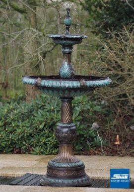 Stufenbrunnen Bronze