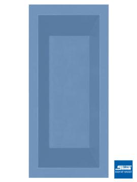 GFK-Teichbecken Wasserbecken rechteckig 180 x 80 x 52 cm – hellblau