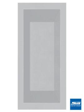 GFK-Teichbecken Wasserbecken rechteckig 240 x 100 x 52 cm – hellgrau