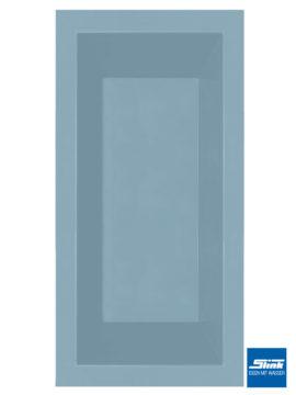 GFK-Teichbecken Wasserbecken rechteckig 370 x 180 x 52 cm – hellblau