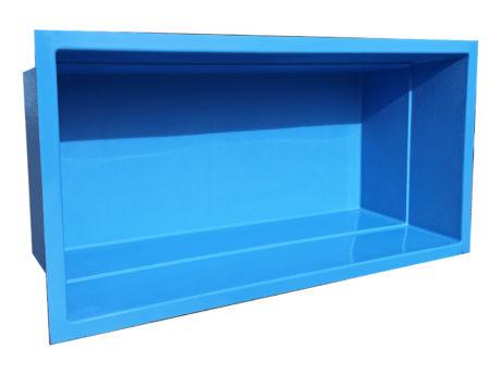 GFK-Teichbecken blau RAL Poolfarbe