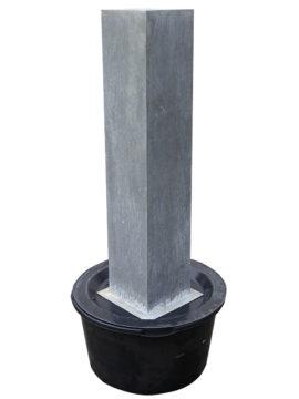 Wasserobjekt Zinkart-Säule 120 x 25 x 25 cm