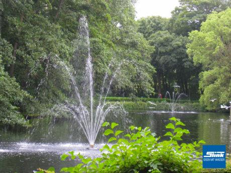 Großanlage, Insel, Fontäne, See, Norderney, Springbrunnen, Planung, Umsetzun