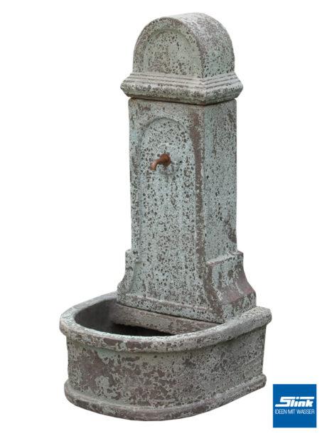Standbrunnen, Wandbrunnen, Keramik, Dekoidee- Gartenidee, Gartengestaltung, Wasserbrunnen, Dekobrunnen