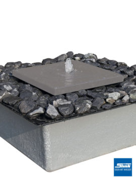 Gartenbrunnen Quellbetonplatte modular