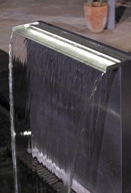 LED-Lichtleiste für Wasserfall-Stele Edelstahl 60