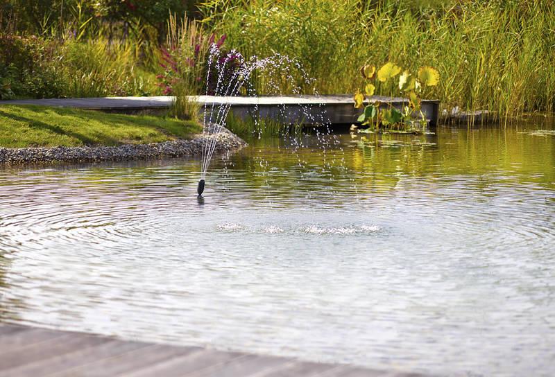 Unterwasserfilteraggregat, OASE Livingwater, Filtral UVC 3000, klares Wasser Teichbecken, Wasserbecken