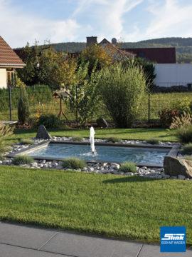 Schaumsprudler-Aggregat für bis zu 150 cm breite Wasserbecken